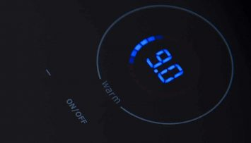KeraVision® by EuroKera for glass-ceramic cooktops with blue LEDs.